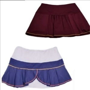 LUCKY IN LOVE bundle tennis skirts